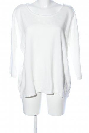 Opus Long Shirt white casual look