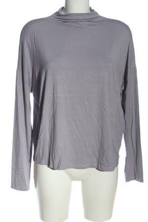 Opus Longsleeve light grey flecked casual look
