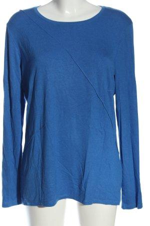 Opus Longsleeve blau Casual-Look
