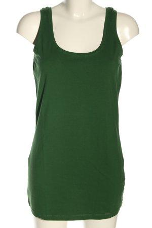 Opus Długi top zielony W stylu casual
