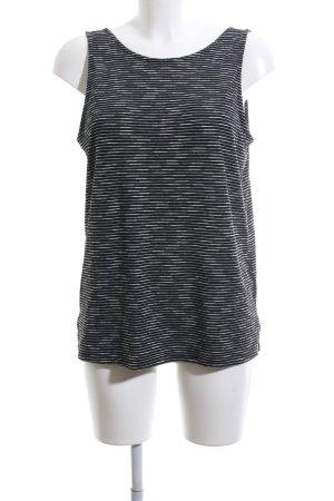 Esprit Longtop schwarz-weiß Streifenmuster Casual-Look