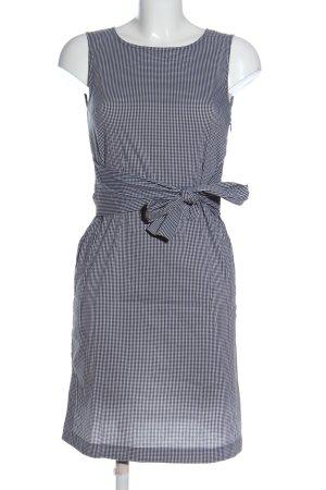 Opus Mini Dress black-white allover print business style