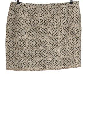 Opus Miniskirt cream-black casual look