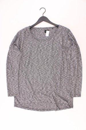 Opus Oversize-Pullover Größe 44 grau aus Polyester