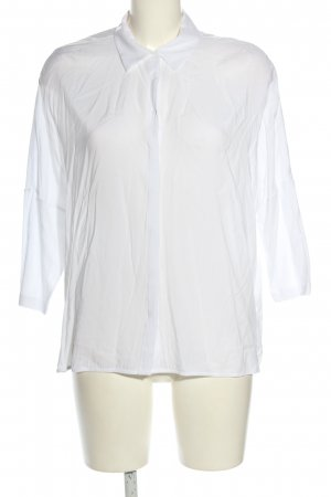 Opus Oversized Bluse weiß Business-Look