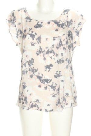 Opus Print-Shirt abstraktes Muster Casual-Look