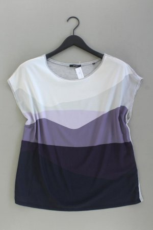 Opus Printshirt Größe 40 Kurzarm mehrfarbig aus Polyester