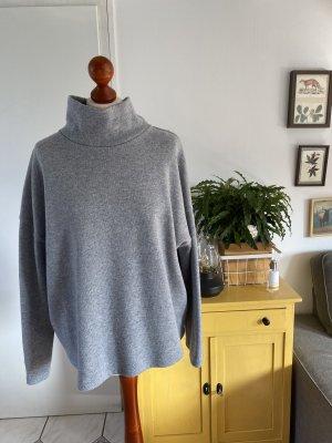 Opus Wool Sweater grey-light grey