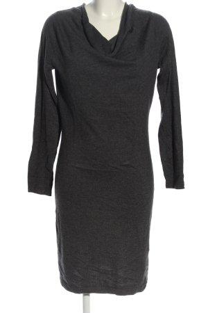 Opus Sweaterjurk zwart casual uitstraling