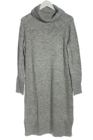 Opus Robe pull gris clair moucheté style décontracté