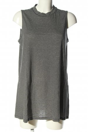 Opus Ringelshirt schwarz-weiß Streifenmuster Casual-Look
