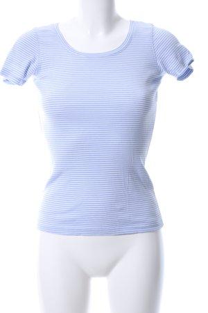 Opus Ringelshirt blau-weiß Streifenmuster Casual-Look