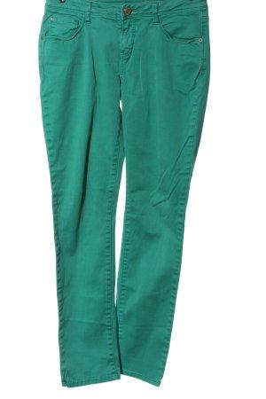 Opus Röhrenhose grün Casual-Look