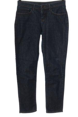 Opus Jeans a sigaretta blu puntinato stile casual