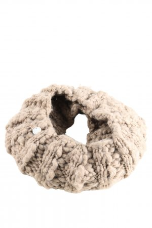 Opus Snood cream cable stitch casual look