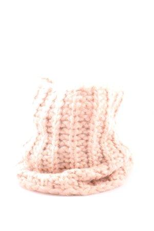 Opus Snood roze kabel steek casual uitstraling