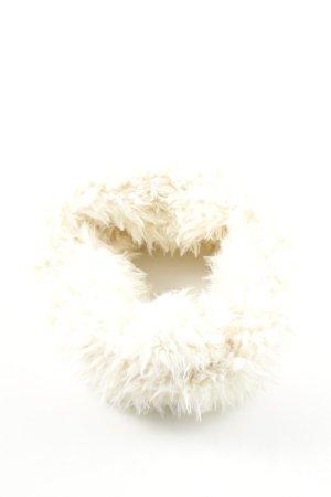 Opus Bufanda tubo blanco puro look casual