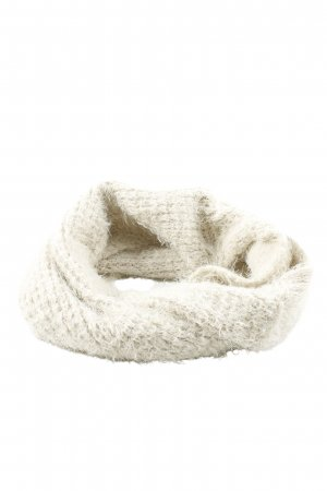 Opus Tube Scarf natural white cable stitch casual look