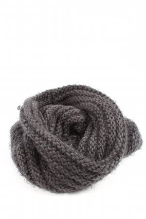 Opus Tube Scarf light grey casual look