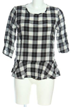Opus Slip-over Blouse black-white allover print casual look