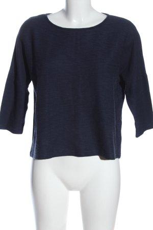 Opus Schlupf-Bluse blau Casual-Look