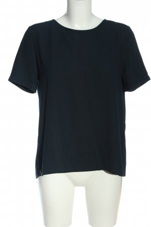 Opus Slip-over Blouse black flecked casual look