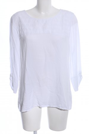Opus Slip-over blouse wit casual uitstraling
