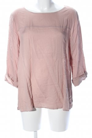 Opus Schlupf-Bluse pink Punktemuster Casual-Look