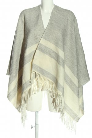 Opus Shoulder Scarf natural white-light grey flecked casual look