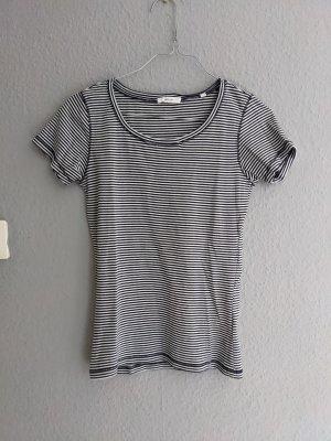 Opus T-shirt bianco-blu