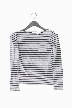 Opus Shirt grau gestreift Größe 36