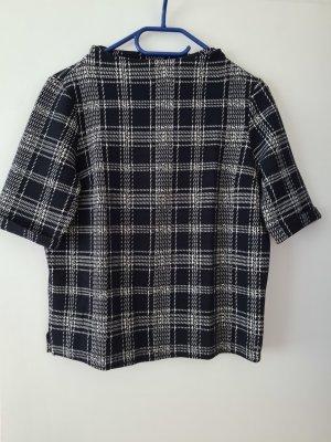 Opus Shirt kariert in schwarz Gr.M