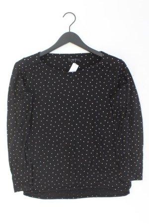 Opus Shirt schwarz gepunktet Größe 38