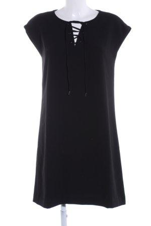 Opus Shirtkleid schwarz Business-Look
