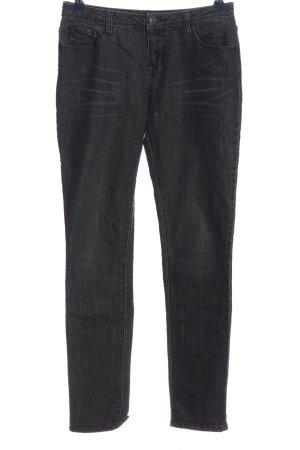 Opus Skinny Jeans schwarz Casual-Look