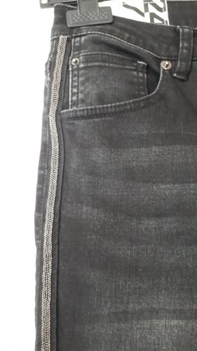 Opus Slim Jeans black