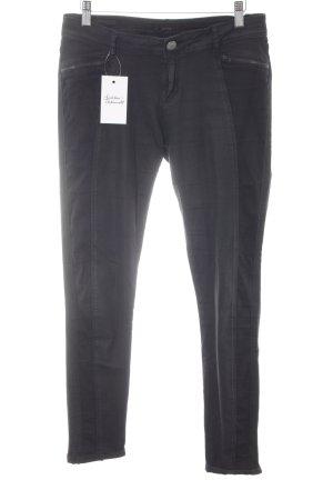 Opus Slim Jeans schwarz