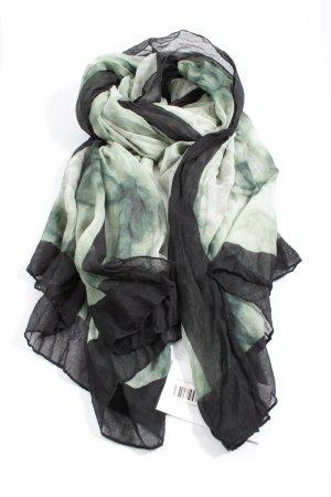 Opus Summer Scarf green-black casual look