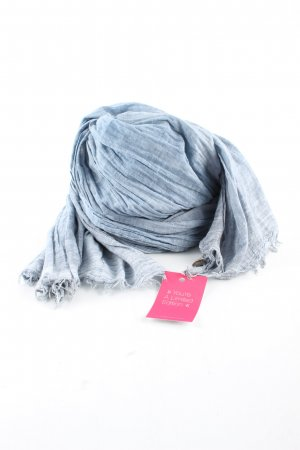 Opus Summer Scarf light grey-blue casual look