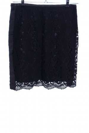 Opus Lace Skirt black casual look
