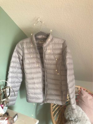 Opus Quilted Jacket light grey