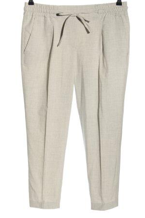Opus Jersey Pants light grey casual look