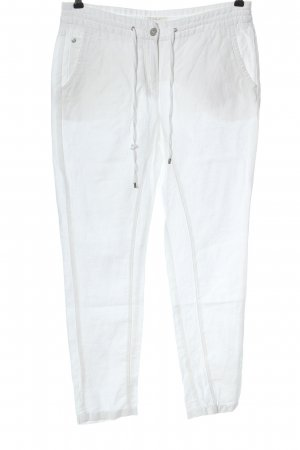 Opus Jersey Pants white casual look