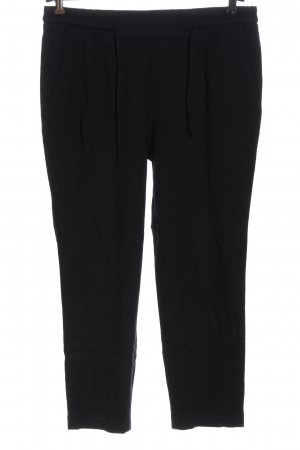 Opus Jersey Pants black-blue allover print casual look