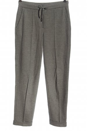 Opus Jersey Pants white-black striped pattern casual look