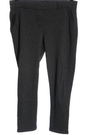 Opus Jersey Pants black-light grey allover print casual look