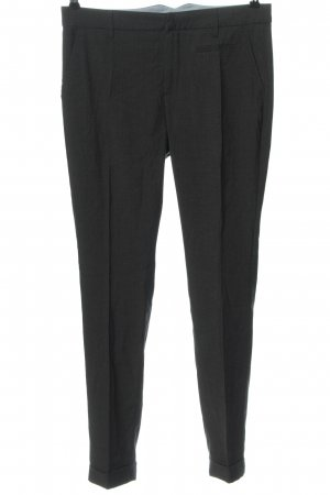 Opus Jersey Pants black striped pattern casual look