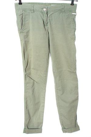 Opus Jersey Pants green casual look