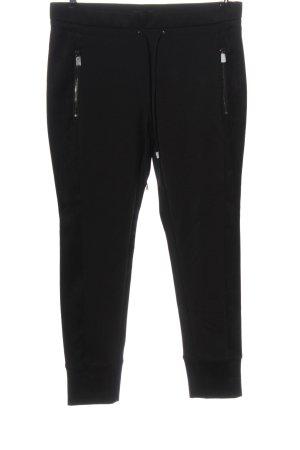 Opus Pantalone jersey nero stile casual