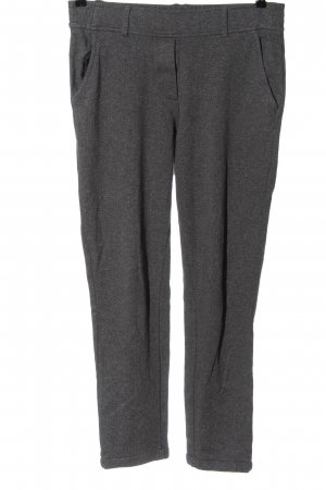 Opus Pantalone jersey grigio chiaro puntinato stile casual